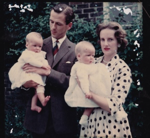 Mary and Jane's Christening